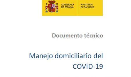 Manexo e atención domiciliaria de persoas contaxiadas polo COVID-19
