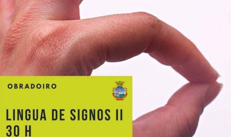 Nova oferta formativa: Curso de Lingua de signos II na Guarda a través da OMIX