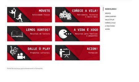 O Concello da Guarda inaugura o portal web #rebulindo (dende a casa)