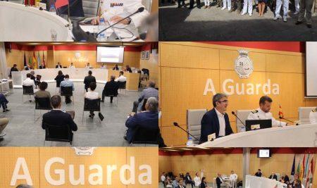 Celebrada la XL sesión plenaria de la Comisión Permanente Internacional del rio Miño (CPIRM) en el Concello de A Guarda