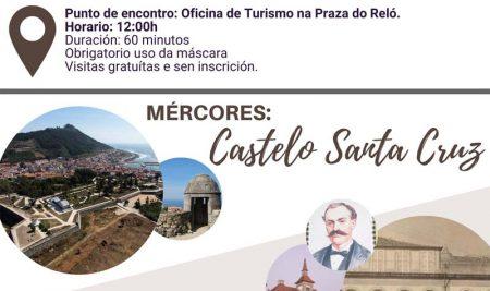 A Guarda ofrece visitas guiadas ao casco histórico ao longo do mes de agosto