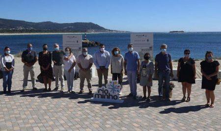 A Deputación cumpre novos compromisos coa gGarda coa remodelación dos accesos á Praia do Muiño e a humanización das rúas Vigo e Celta