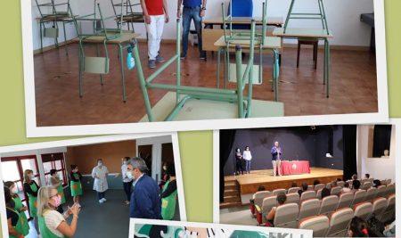 Inicio do curso escolar no Conservatorio de Música na Guarda con novos protocolos polo Covid-19