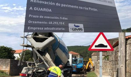 Arrancan as obras de mellora da seguridade vial na Proba-Pintán