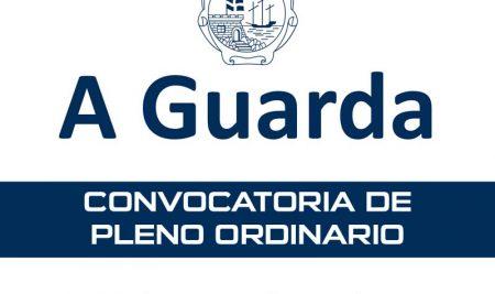Convocatoria de Pleno Ordinario para este venres día 25 de setembro