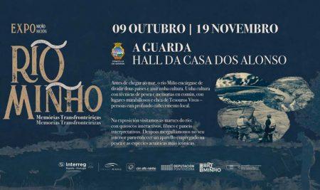 """A exposición """"Río Miño- Memorias transfronteirizas"""" amplía a súa estadía na Guarda até o 19 de novembro"""