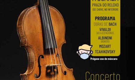 """A Guarda pecha a programación de outubro cun concerto de corda en sesión """"vermouth"""" na Praza do Reló"""