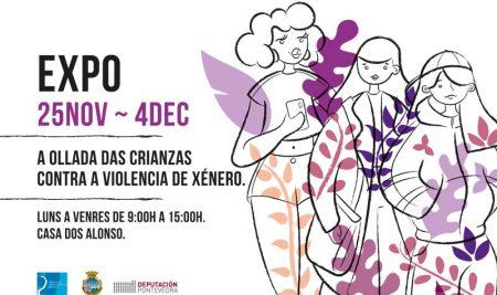 """A Guarda conmemora o 25N coa exposición """"Sempre Vivas"""""""
