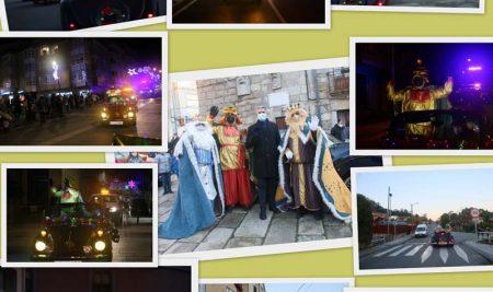 Os Reis Magos visitaron A Guarda