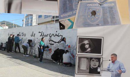 Conmemoración do Día de Rosalía 2021 na Guarda