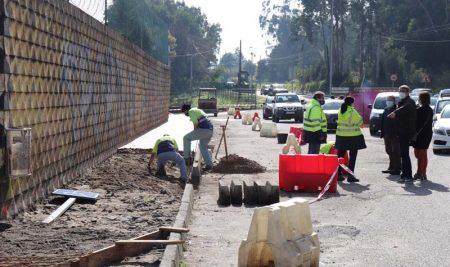 Arrancan as obras de mellora da accesibilidade na contorna do Estadio Municipal da Guarda