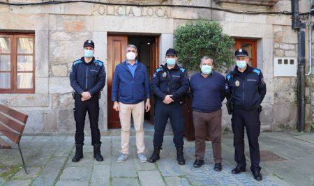A Guarda conta con dous novos Auxiliares de Policía Local
