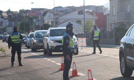 Dúas alcoholemias positivas nun control preventivo realizado pola Policía Local da Guarda