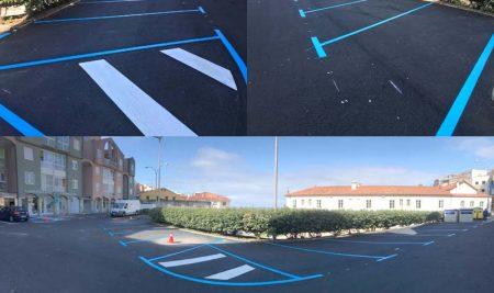 A Guarda realiza unha nova pavimentación na Praza de San Bieito