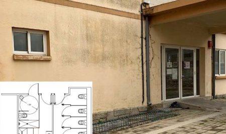 Peche temporal do albergue municipal da Guarda debido a obras de mellora