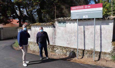 O Concello da Guarda realiza melloras en diversos camiños do rural