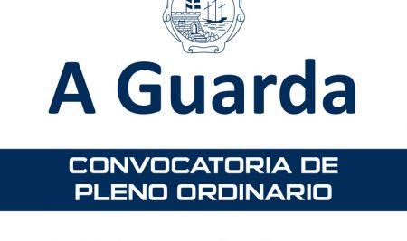 Convocatoria de Pleno Ordinario este venres na Guarda