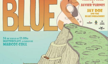 A Guarda énchese de música blues na vindeira fin de semana