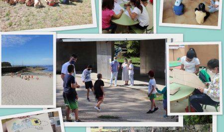 Remata o campamento urbano cun gran éxito de participación