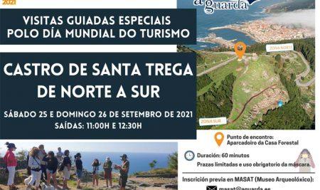 A Guarda conmemora o Día Mundial do Turismo con visitas guiadas especiais ao castro de Santa Trega