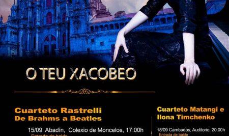Esgotadas todas as entradas para o concerto do Cuarteto Rastrelli deste venres na Guarda