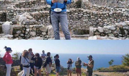 Máis de 2.000 persoas realizaron a visita guiada ao Monte Santa Trega